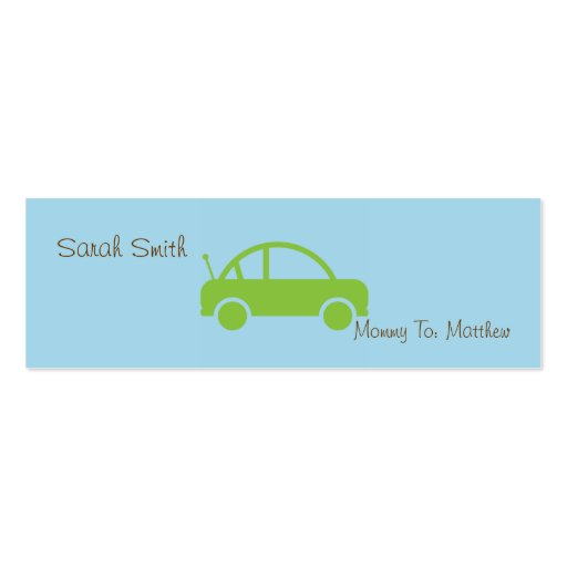Mommy Mini Calling Cards Business Card