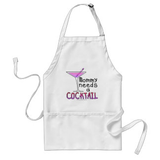 Mommy Needs a COCKTAIL! Standard Apron