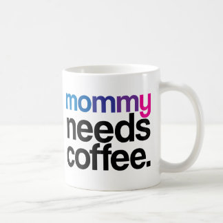 Mommy Needs Coffee Coffee Mug