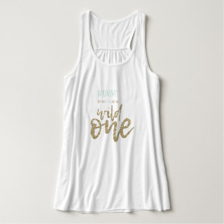 Mommy Of The Wild One Bella+Canvas Flowy Tank
