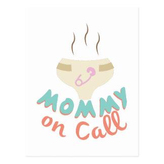 Mommy On Call Postcard