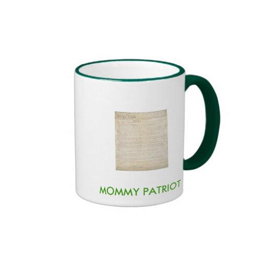 MOMMY PATRIOT MUG
