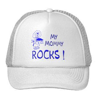 Mommy Rocks ! (blue) Trucker Hat