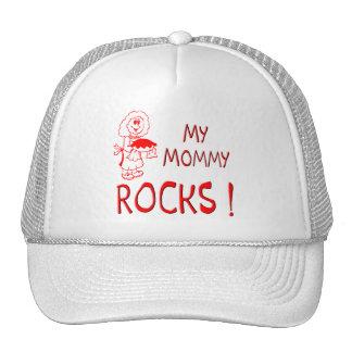 Mommy Rocks ! (red) Trucker Hat