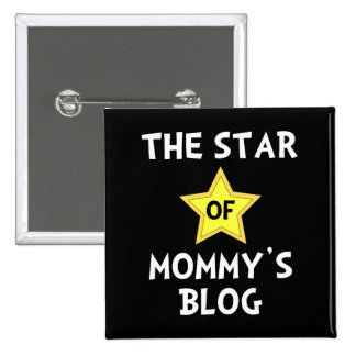 Mommy?s Blog Star 2 Inch Square Button