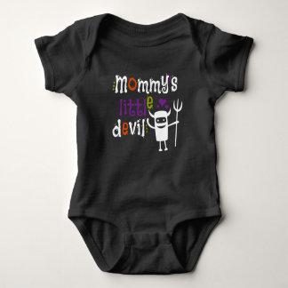 Mommy's Little Devil Kids Tshirt for Halloween