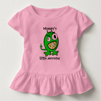 Mommy's Little Monster- Green Version Toddler T-shirt