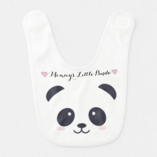 Mommy' S Little panda Bib