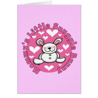 Mommy s Little Snuggle Bunny Cards