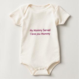 Mommy Served Baby Bodysuit