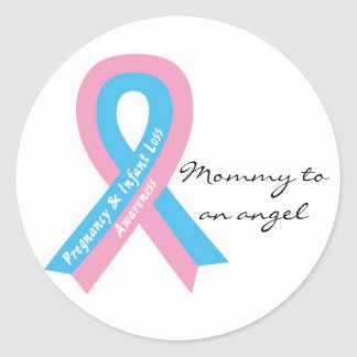 Mommy to an angel Sticker
