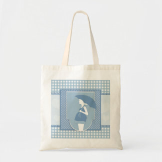 Mommy to be - pregnancy blue women tote bag