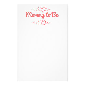 Mommy to Be Stationery