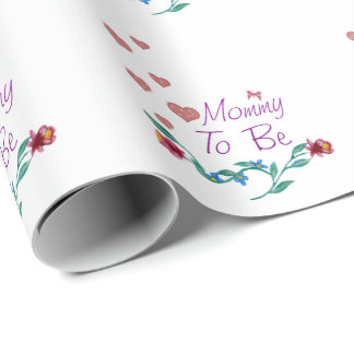 Mommy To Be Wrapping Paper