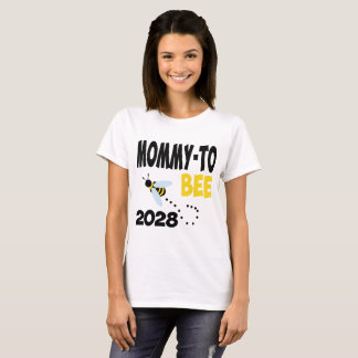 MOMMY TO BEE 2028 T-Shirt