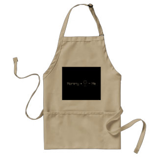 Mommy + Wine = Me Standard Apron