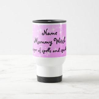 Mommy Witch  personalised Travel Mug