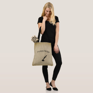 Mommyblogger design tote bag