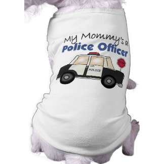 Mommy's A Police Officer Dog T-shirt