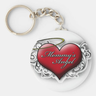 Mommy's Angel Keychain