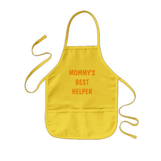 MOMMY'S BEST HELPER APRON