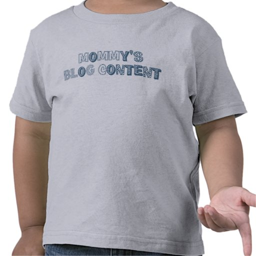 mommy's blog content: blue shirts