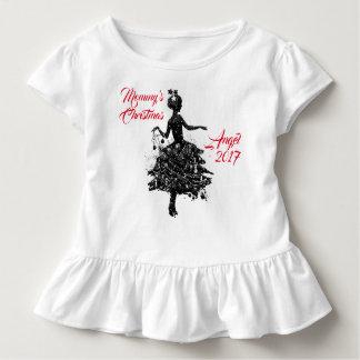 Mommy's Christmas Angel 2017 Toddler T-shirt