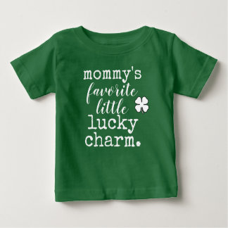 mommy's favorite little leprechaun. baby T-Shirt