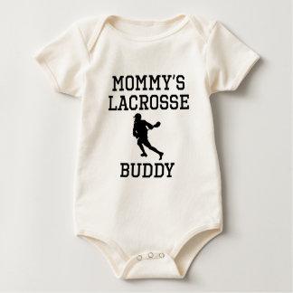 Mommy's Lacrosse Buddy Baby Bodysuit