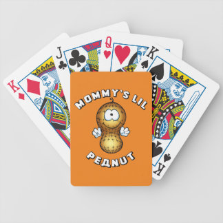Mommy's Lil Peanut Bicycle Playing Cards