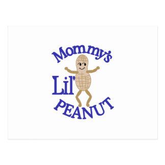 Mommy's Lil' Peanut Postcard