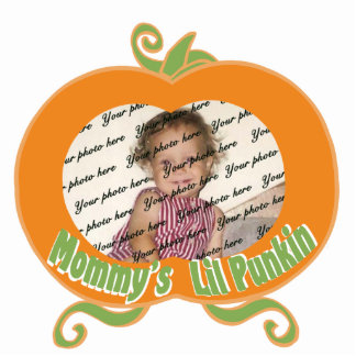 Mommy's Lil Punkin/ Photo Standing Photo Sculpture