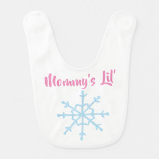 Mommy's Lil' Snowflake Bib