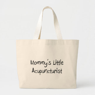 Mommy's Little Acupuncturist Large Tote Bag
