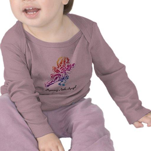 Mommy's little Angel Baby Tshirt