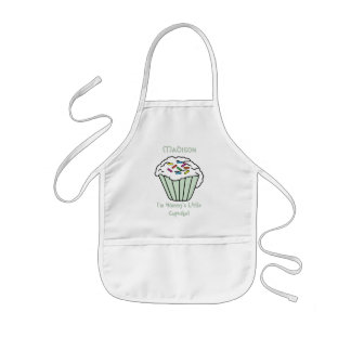 Mommy's Little Cupcake Kids Apron