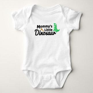 Mommy's Little Dinosaur Baby Jersey Bodysuit