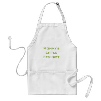 Mommy's little feminist standard apron