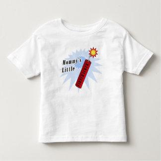 Mommy's Little Firecracker Toddler T-shirt
