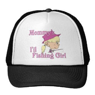Mommy's Little Fishing Girl Trucker Hats