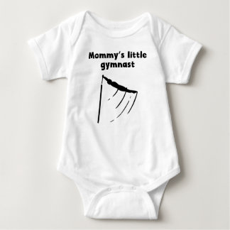 Mommy's Little Gymnast Baby Bodysuit