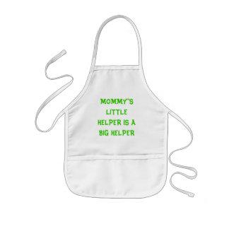 MOMMY'S LITTLE HELPER IS A BIG HELPER apron