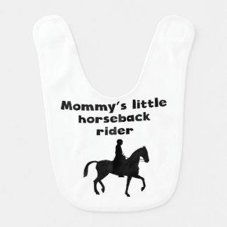 Mommy's Little Horseback Rider Bibs