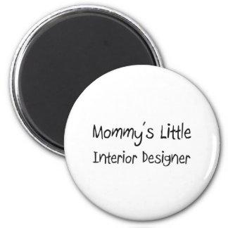 Mommys Little Interior Designer 2 Inch Round Magnet