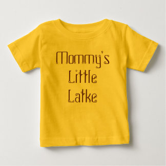 Mommy's Little Latke Jewish or T Shirt