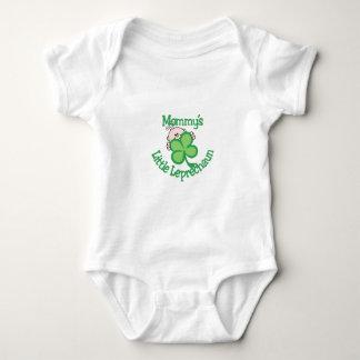 Mommy's Little Leprechaun Baby Bodysuit