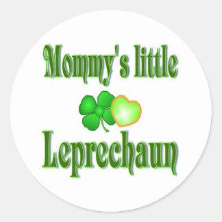 Mommy's Little Leprechaun Gifts Sticker