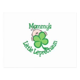 Mommy's Little Leprechaun Postcard