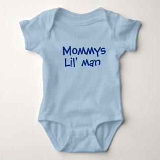 Mommys little man baby bodysuit