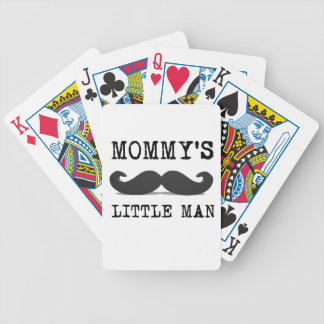 Mommy's Little Man Bicycle Playing Cards